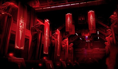 crimson shadow legion - background