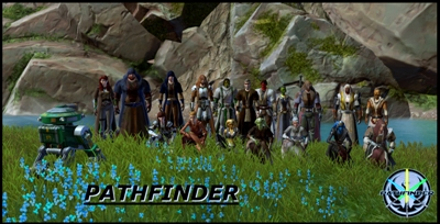Pathfinder - group pose
