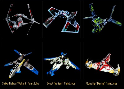 Gaactic Starfighter - rewards