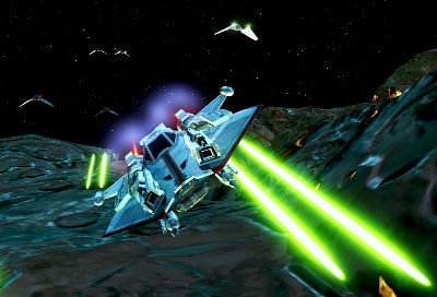 Galactic Starfighter - screenshot