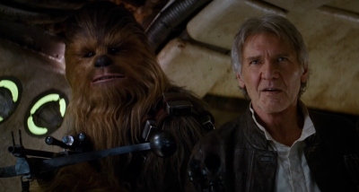 Chewie and Han VII