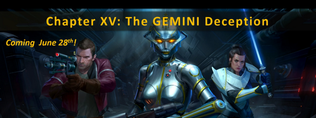 gemini deception XV